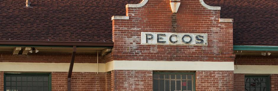 Pecos train depot