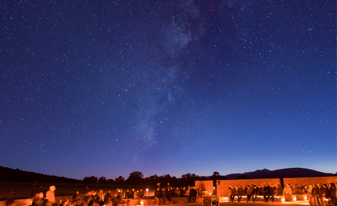 wondrous trails and starry nights pecos